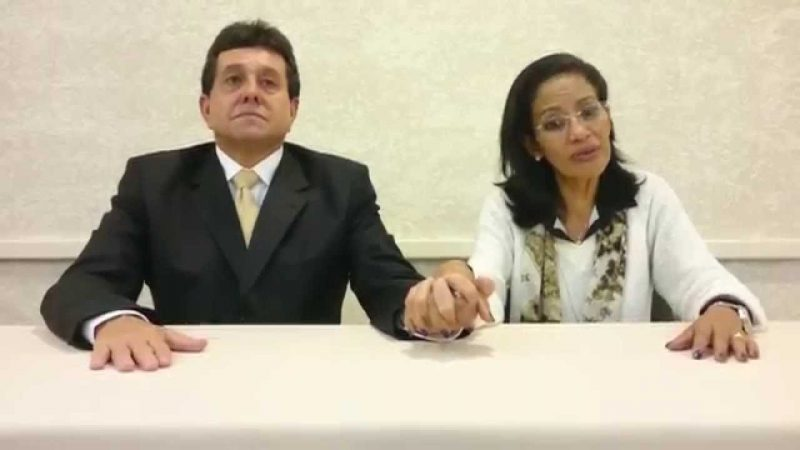 Paulo César e Telma