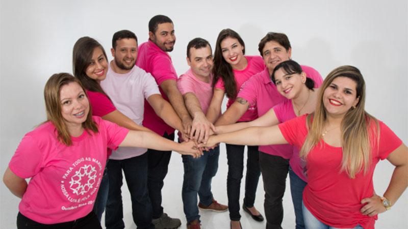 Outubro Rosa e a equipe DouraSoft