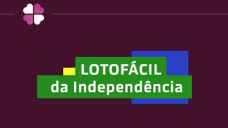 lotofacil da independencia