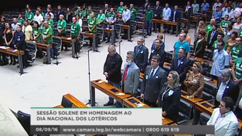 Dia Nacional do Lotérico Frente Parlamentar e Sessão Solene na Câmara dos Deputados