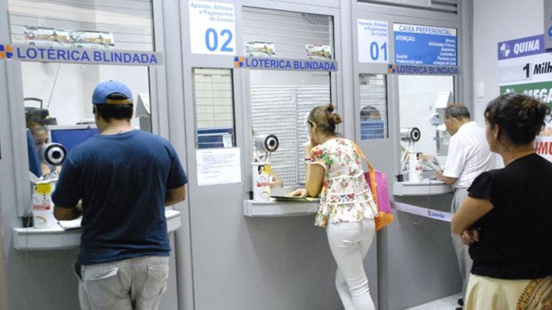 segurança na casa lotérica