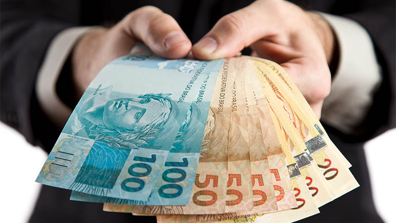 entrada e saida de dinheiro